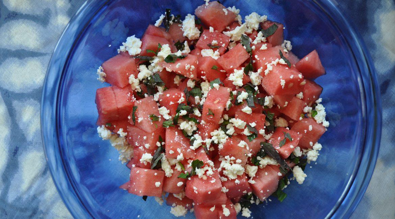 Refreshing Watermelon Mint Salad